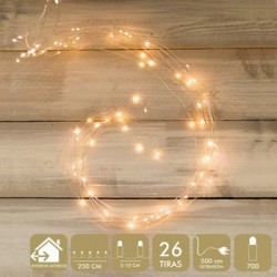 LUZ NAVIDAD BEST PRODUCTS MICROLED 700 LUCES CALIDO